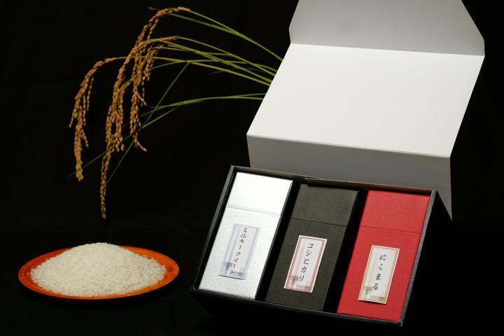 「お米味くらべギフト/3合×3」商品写真 1