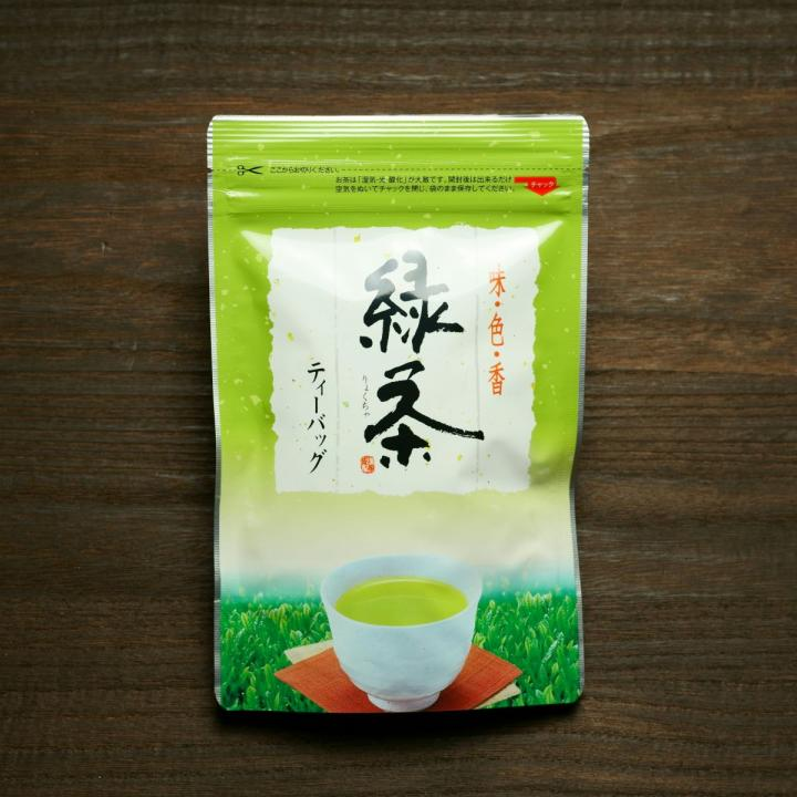 「緑茶ティーバッグ/20個」商品写真 1